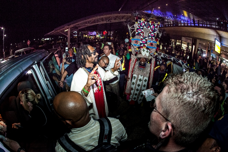 Snoop Lion Arriving At Durban King Shaka International Airport for MTV Africa All Stars KwaZulu-Natal - picture by Al Nicoll Photography (4)