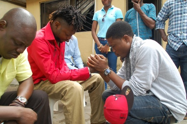 Vector Praying For OJB