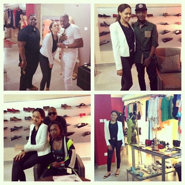 Tania Omotayo1 600x600 Tania Omotayo (WizKid's Girlfriend) Opens Up Boutique in Lekki, Lagos