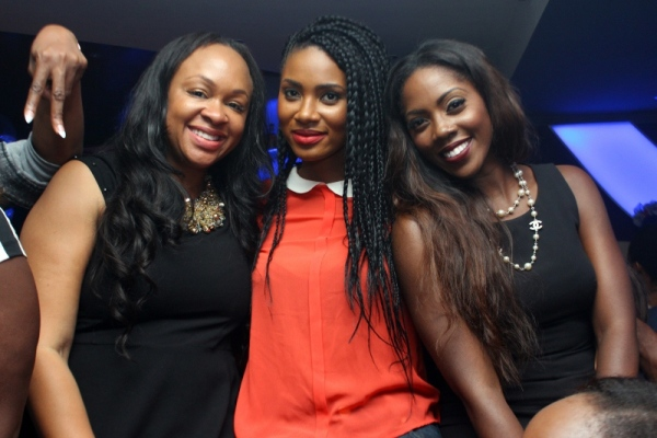 Colette Otusheso Jumai SHaba and Tiwa Savage PHOTOS : Banky W, Julius Agwu, Toolz, Ice Prince, Wizkid, Others Gather To Celebrate Alex Okosi's Birthday In Lagos