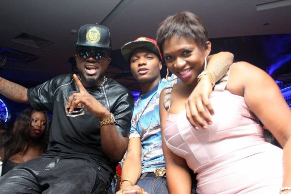 Ice Prince Wizkid and Waje PHOTOS : Banky W, Julius Agwu, Toolz, Ice Prince, Wizkid, Others Gather To Celebrate Alex Okosi's Birthday In Lagos