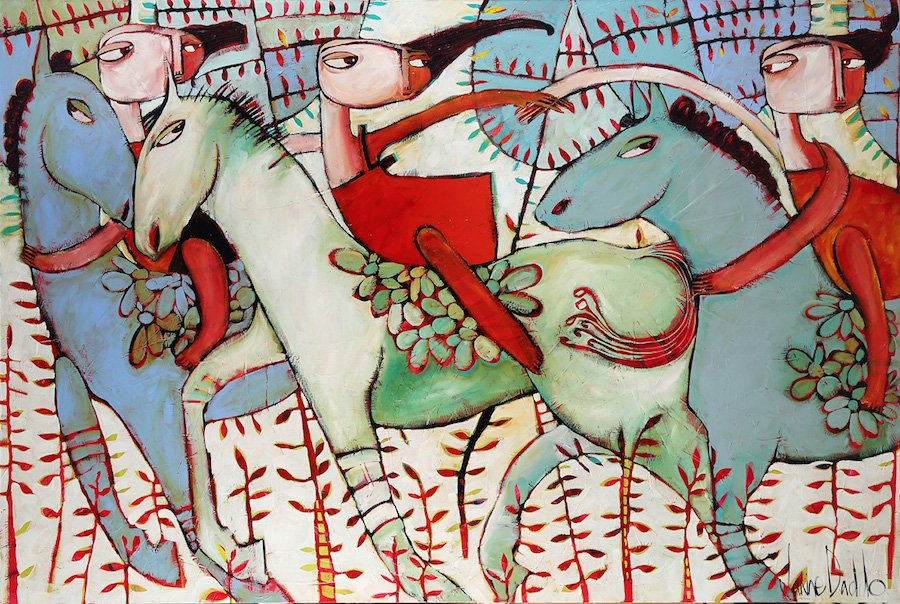 "JANINE DADDO ""Runaway With Me"" Exhibition Opening 19th April"