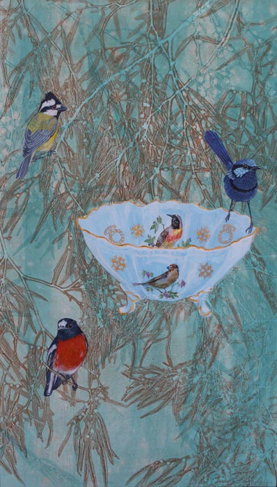 Kay Gibson - A Brush With Birds - opening 15 November 2014