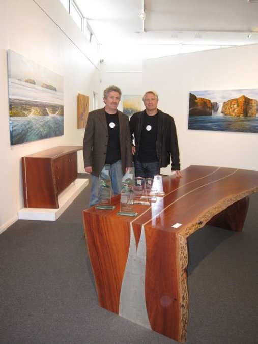 David and Gary with the Kimberley Collection 2009 Awards