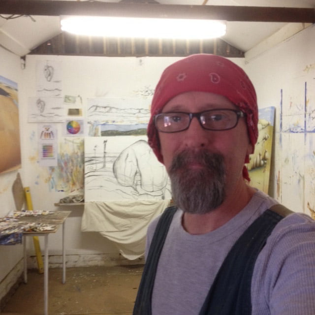 Shane Moad Artist - Up Close and Personal
