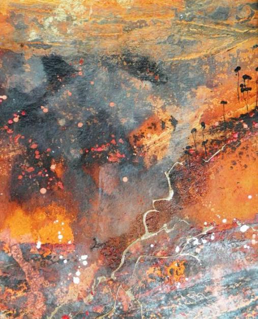 Jeannette Dyson Painted Earth