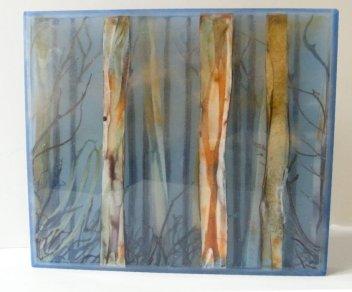 Vivienne-Jagger-Karri-Forrest-III-Glass-Panel-29x25cm