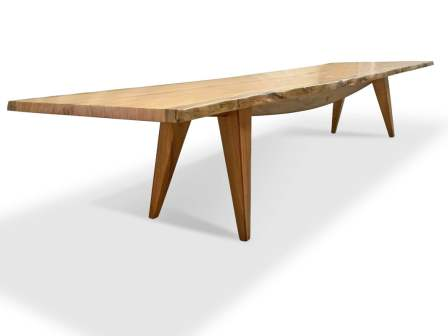 The-Hull-4.2 Marri Single Slab Dining-Table-side