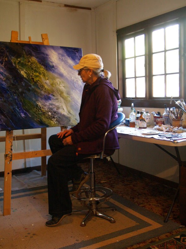 Susan Angwin Artist - Up Close & Personal