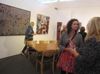 Bec Juniper Exhibition Opening Night Crowd 4