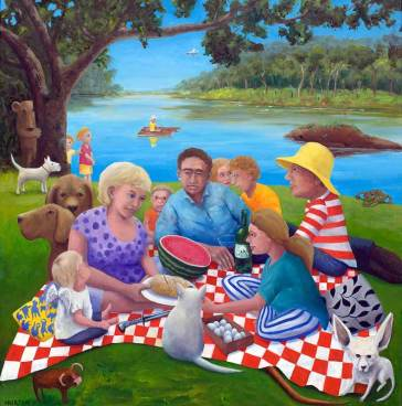 Helen-Norton-The-Picnic-painting