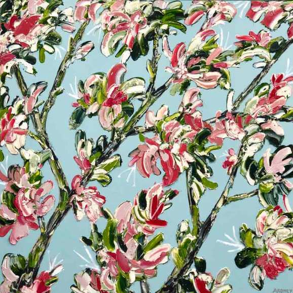 felicia aroney fresh florals painting