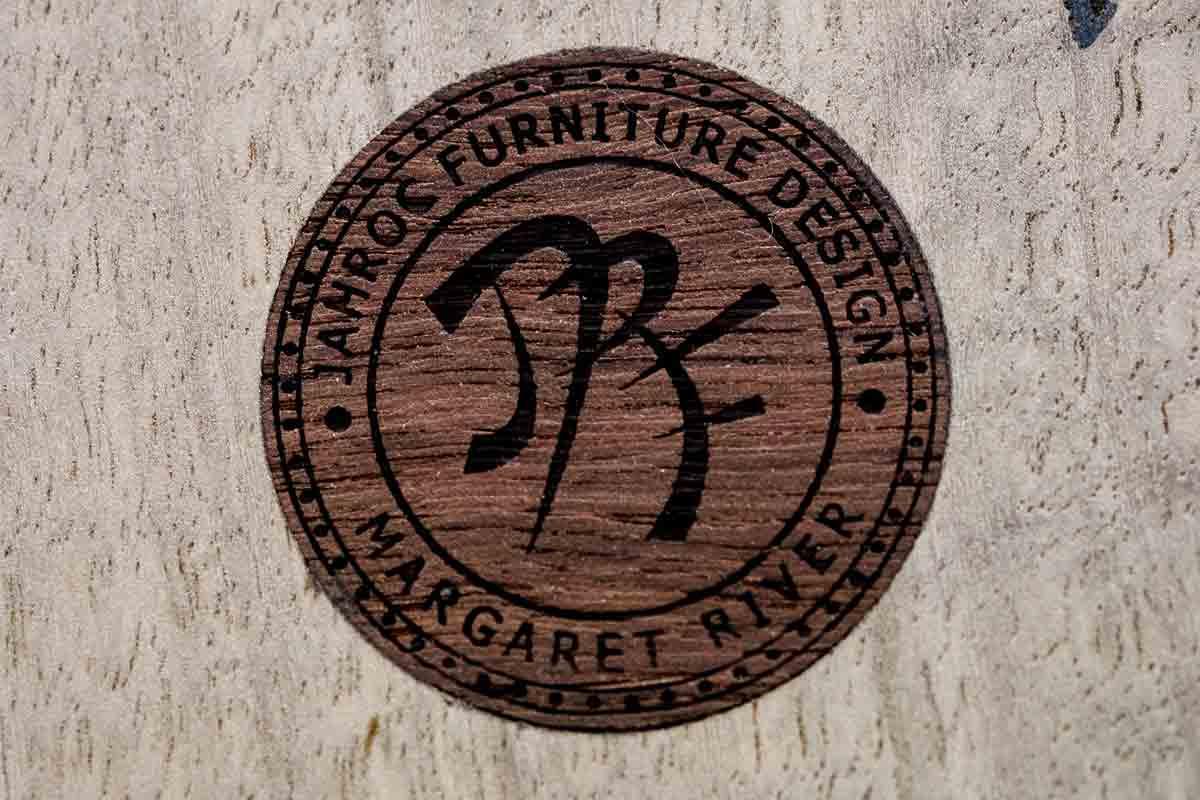 Jahroc Story So Far Logo On Wood
