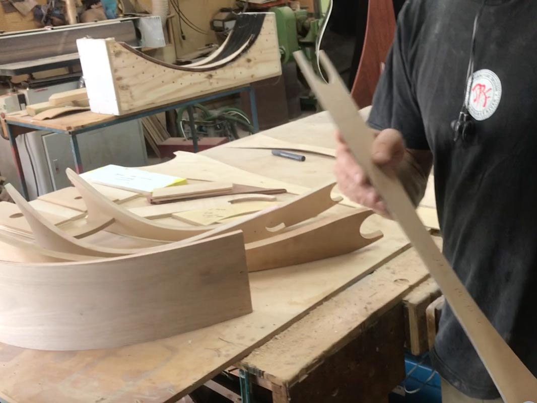 Get Uked, Artistic Ukulele & Guitar Stands - In The Making