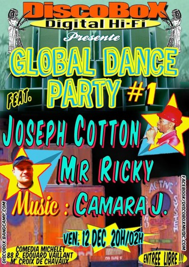 [75] - GLOBAL DANCE PARTY #1 -  JOSEPH COTTON + Mr RICKY