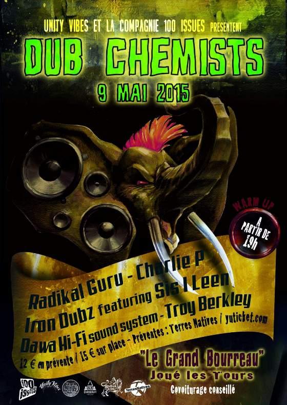 [37] - DUB CHEMISTS : RADIKAL GURU + CHARLIE P + IRON DUBZ feat. SIS I-LEEN + TROY BERKLEY + DAWA Hi-Fi SOUND SYSTEM