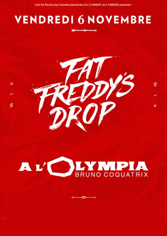 [75] - FAT FREDDY'S DROP + GUEST