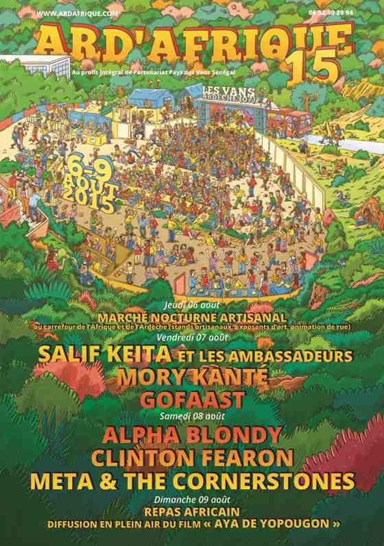 [07] - FESTIVAL ARD'AFRIQUE - ALPHA BLONDY + CLINTON FEARON + META & THE CORNERSTONES