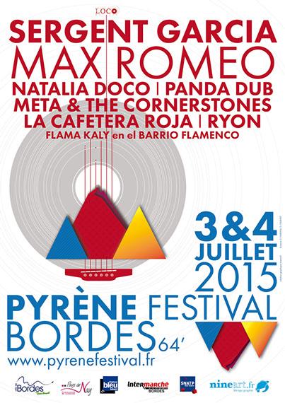 [64] - PYRENE FESTIVAL : MAX ROMEO + PANDA DUB + META & THE CORNERSTONES