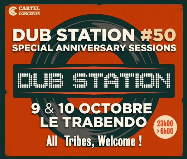 [75] - DUB STATION #50 - SPECIAL ANNIVERSARY SESSIONS - JAH SHAKA + HASPAR + BLACKBOARD JUNGLE