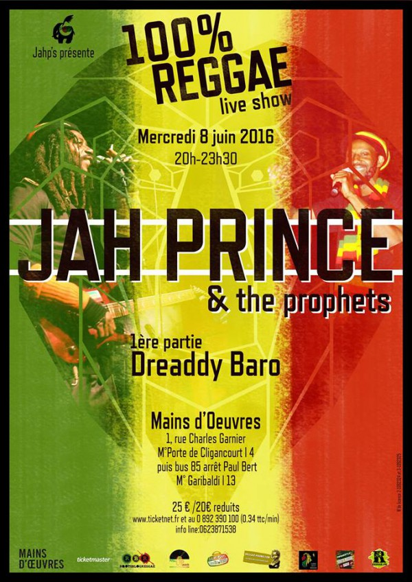 [93] - JAH PRINCE & THE PROPHETS + DREADDY BARO