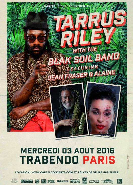 [75] - TARRUS RILEY with THE BLAK SOIL BAND feat. DEAN FRASER & ALAINE