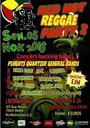 [75] - RED HOT REGGAE PARTY