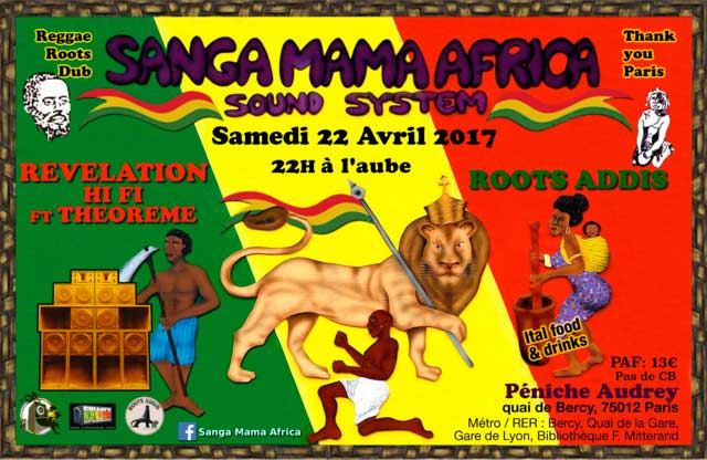 [75] - SANGA MAMA AFRICA & REVELATION Hi-Fi feat. MASALA & ROOTS ADDIS