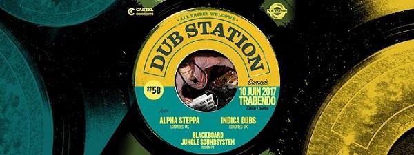 [75] - DUB STATION # 58 - ALPHA STEPPA + INDICA DUBS + BLACKBOARD JUNGLE SOUNDSYSTEM