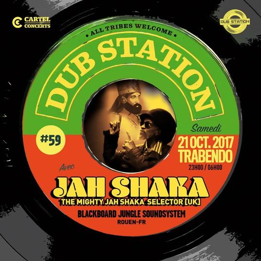 [75] - DUB STATION #59 - JAH SHAKA + BLACKBOARD JUNGLE SOUNDSYSTEM