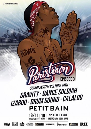 [75] - PARISTOWN : EPISODE 3 - GRAVITY + DANCE SOLDIAH + IZABOO + DRUM SOUND + CALALOO