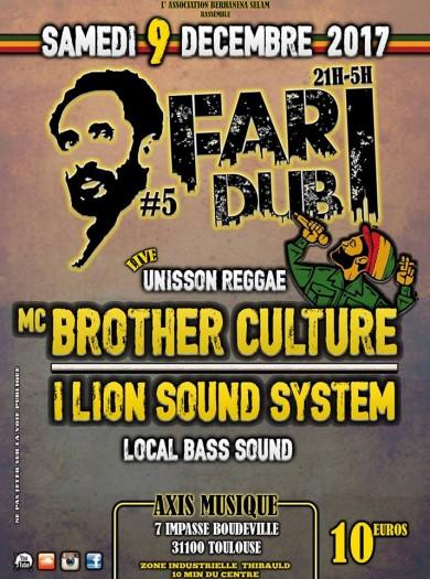 [31] - FARI DUB SESSION #5 - MC BROTHER CULTURE + I LION SOUND SYSTEM