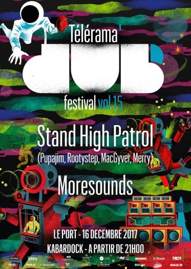 [974] - TELERAMA DUB FESTIVAL #15 - STAND HIGH PATROL
