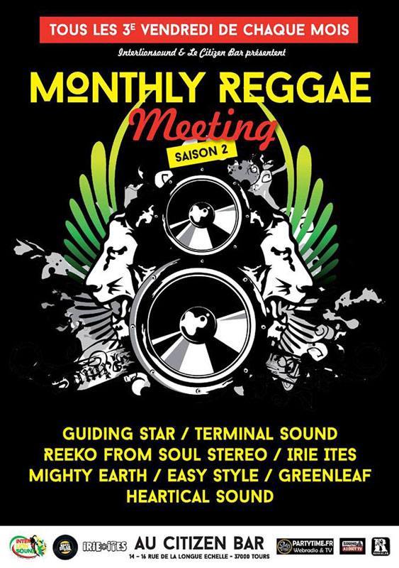 [37] - MONTHLY REGGAE MEETING feat. HEARTICAL & INTERLION SOUND