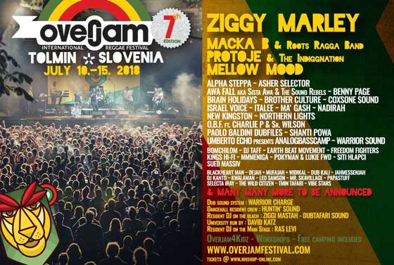 Overjam Festival 2018