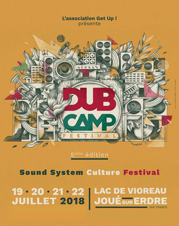 [44] - DUB CAMP FESTIVAL 2018 - JAH TUBBY'S WORLD SYSTEM + ALPHA AND OMEGA + WACKIE'S meets MILTON HENRY + BLACKBOARD JUNGLE FULL SYSTEM