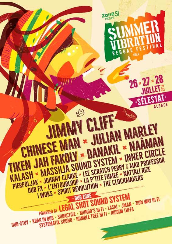 [67] - SUMMER VIBRATION REGGAE FESTIVAL #5 - JIMMY CLIFF + CHINESE MAN + JULIAN MARLEY + LEGAL SHOT SOUND SYSTEM + MUNGO'S Hi Fi