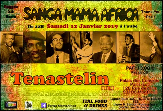 [93] - SANGA MAMA AFRICA & TENASTELIN