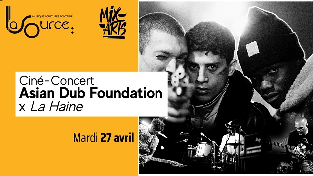 [38] - ASIAN DUB FOUNDATION + LA HAINE (FILM)