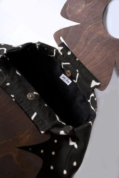Jahzara Fashion House Mud Cloth Ahnk bag