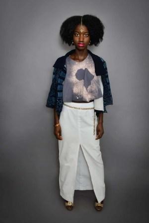 Dana Pencil skirt, Indie GoGo Jacket, Calixte Tank