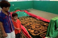 At Tomb of Prophet Ayyub, Salalah