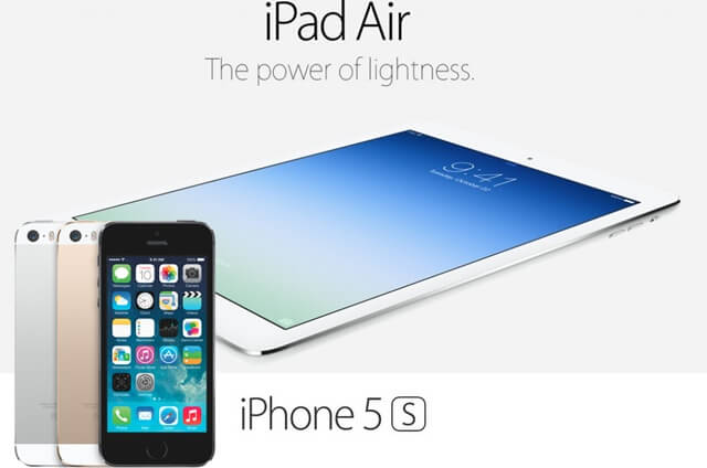iPad-Air vs iphone 5s
