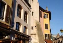 Facades colorées de la vieille ville