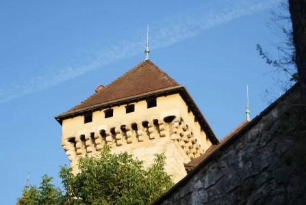 Tour du chateau d'Annecy