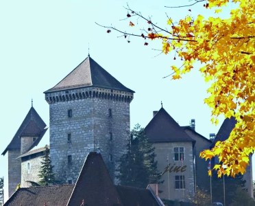 Tour du château d'Annecy