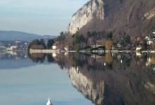26 décembre au lac d'Annecy
