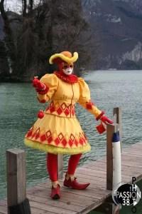 lac d'annecy carnaval vénitien