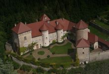 chateau vu d'avion