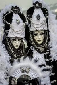 masques vénitiens à Annecy